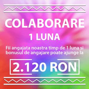 fundal colorat litere albe colaborare 1 luna 2120 RON
