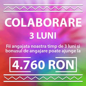 fundal colorat litere albe colaborare 3 luni 4760 RON