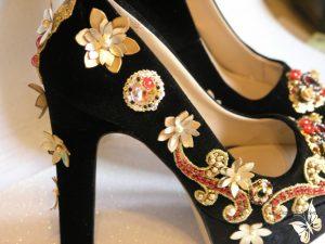 pantofi cu accesorii